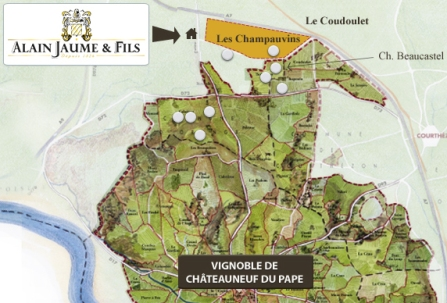 Cdp and Champauvins Map
