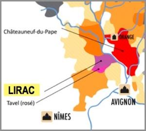 Lirac Map