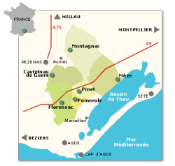 Picpoul Map