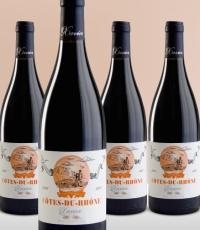 xavier vignon cote du rhone bottles