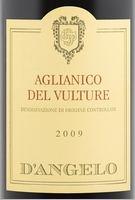 d'Angelo Aglianico del Vulture