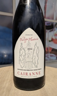 Plantevin Cairanne bottle