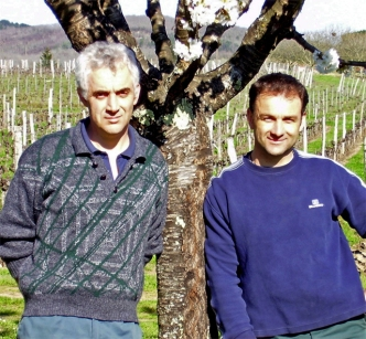 Ch La Caminade winemakers