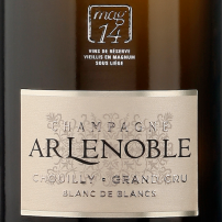 AR Lenoble Grand Cru Chouilly Blanc de Blancs Mag 14 NV