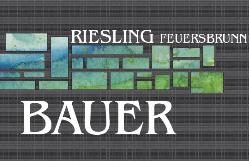 Josef Bauer Riesling Feuersbrunn