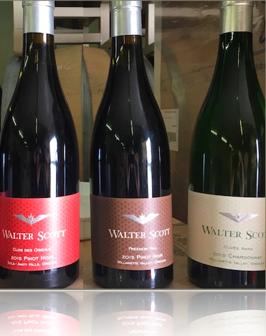 Walter Scott three wines