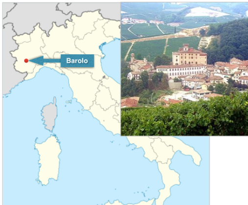 Barolo and Map