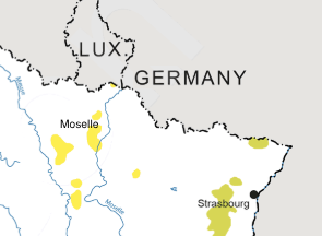 Moselle Map