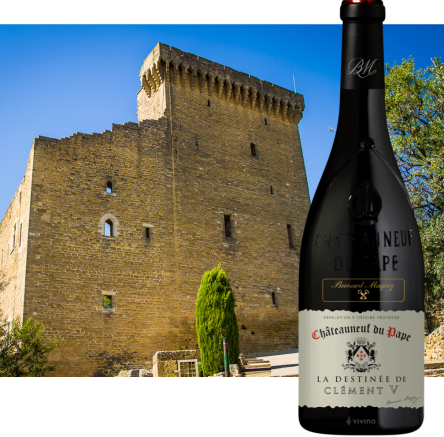 Clement V CdP and castle