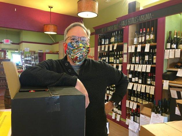 Doug in Mask