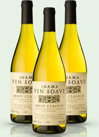 Inama Soave bottles